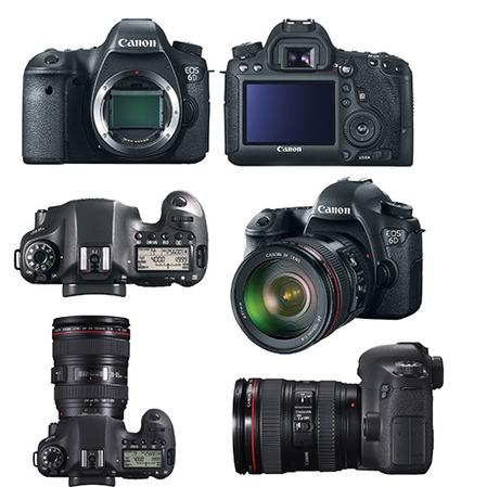 Canon EOS 6D: New, More Affordable, Smallest & Lighting Full-Frame Digital SLR