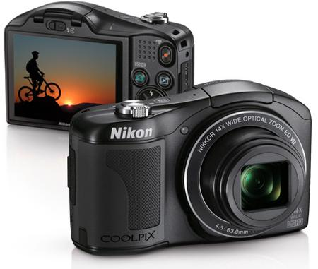 Nikon's New Coolpix L610 Compact Camera Features Impressive 14x Optical Zoom Lens