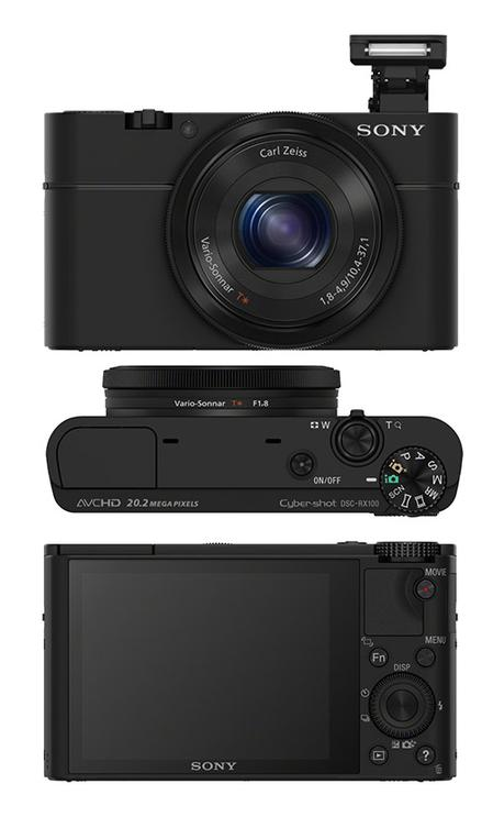 Just Announced!  Sony's Advanced Cyber-shot RX100 with Large 1