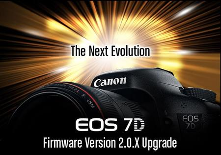 Canon EOS 7D Firmware Now Available to Download