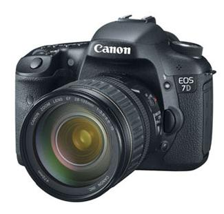 Canon Adds Features to EOS 7D with New Firmware Update