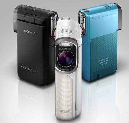 Just Announced!  Sony's First Waterproof Handycam HD Camcorder also Captures 20-Megapixel Stills