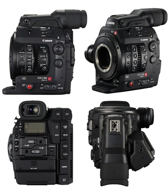 Cameras / Camcorders: Canon EOS C300 Mark II 4K Cinema Camera (EF