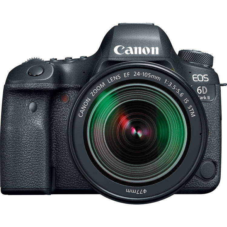 Canon EOS 6D Mark II DSLR with 24-105mm STM Lens at Hunts Photo ...