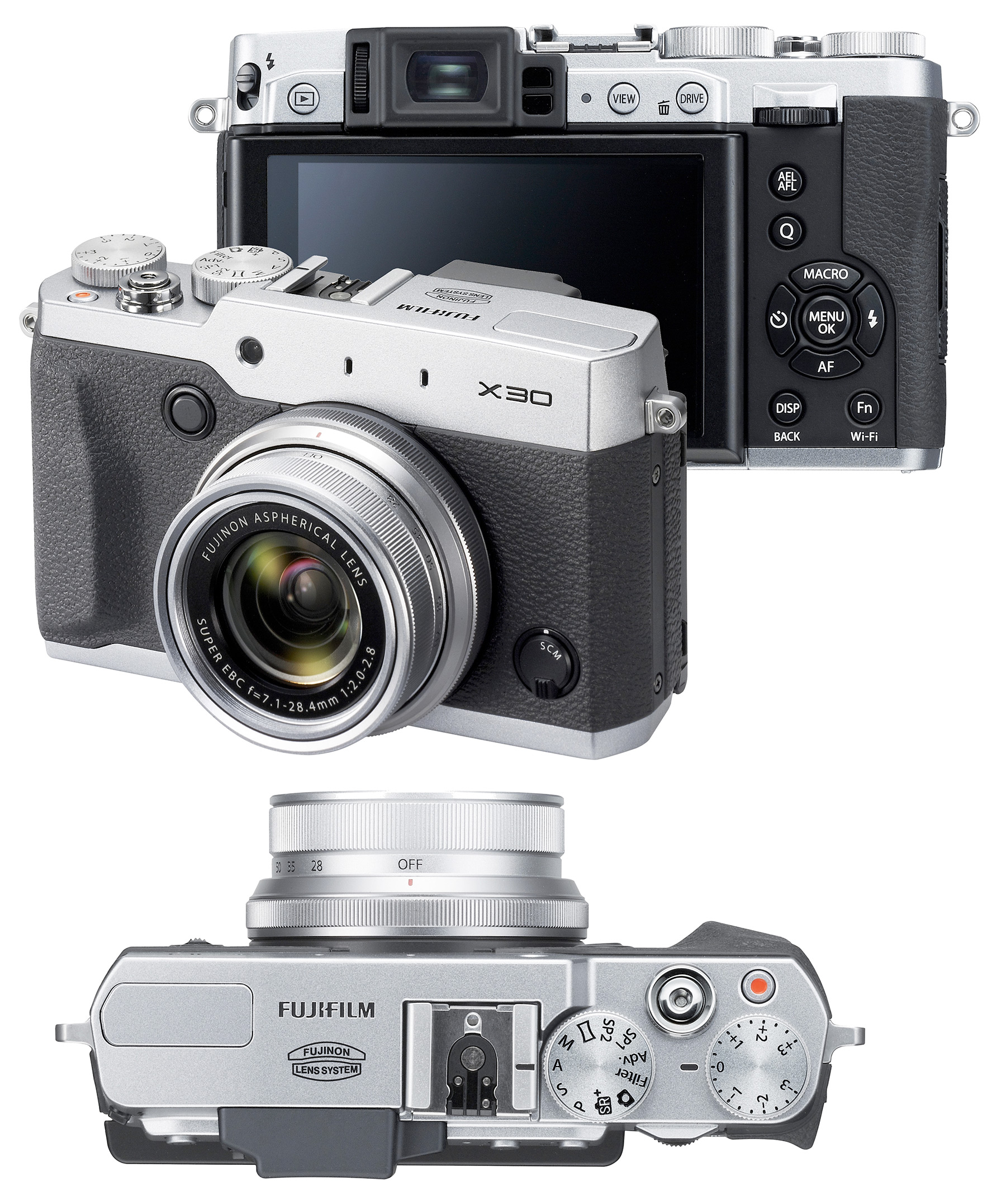 fujifilm x30 digital camera with fast f  2 0 lens  silver