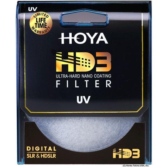 ecbc2c8741 Lenses and Filters  Hoya HD3 UV Protective Filter (49mm) at Hunts ...