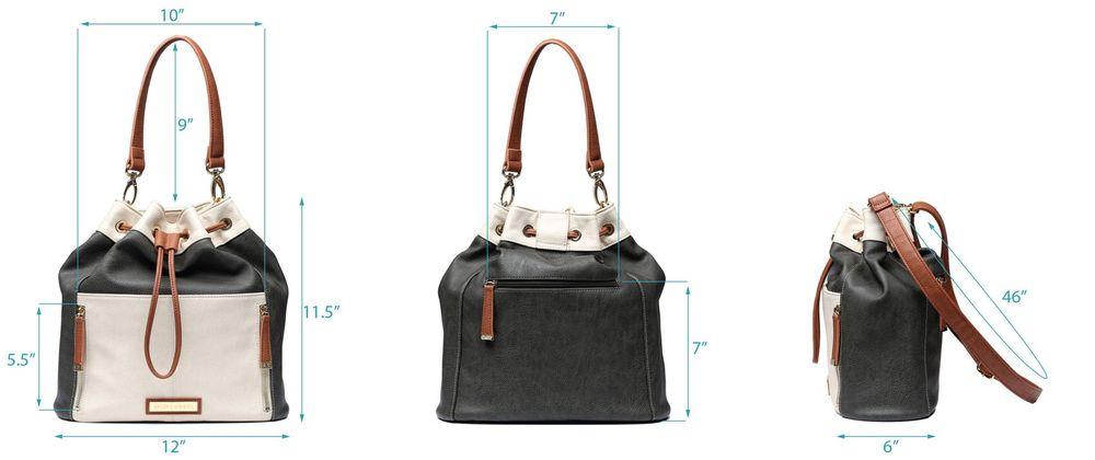 1cf298383a3e7 Accessories  Kelly Moore The Austin Vegan Bucket Bag (Bone White) at Hunts  Photo   Video