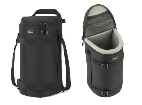 Black Lowepro Lens Case 13 x 32 cm