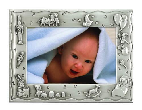 Frames Malden Frames Sweet Dreams 4x6 Pewter Baby Frame At Hunts