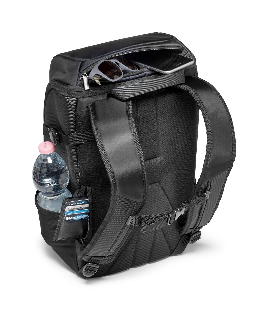 7839ca4ecfa7 Bags   Cases  Manfrotto CSC Advanced Camera Backpack Compact 1 for Mirrorless  Cameras (Black) at Hunts Photo   Video