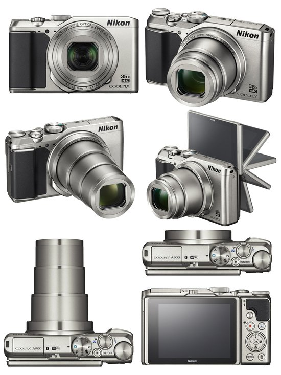 Digital Cameras Nikon Coolpix A900 Camera With 35x
