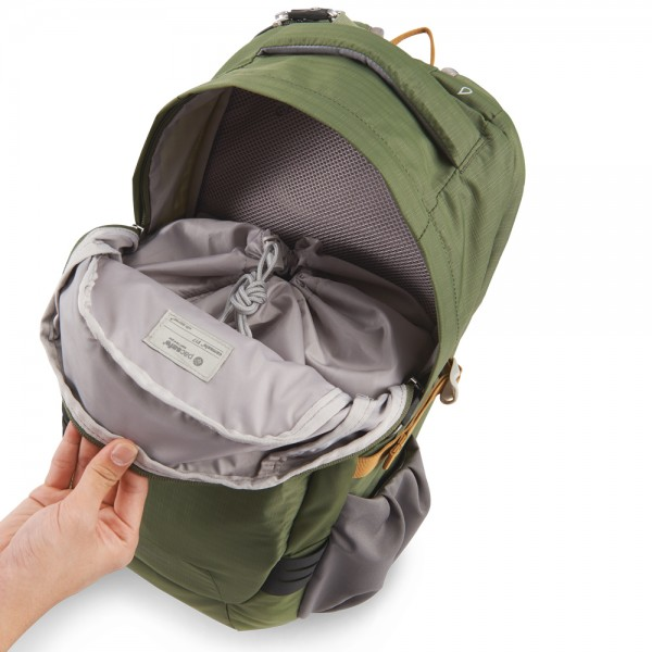 PacSafe Camsafe V17 Anti-Theft Camera Backpack (Olive / Khaki) at ...