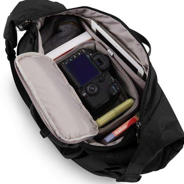 Bags Cases Pacsafe Camsafe V18 Anti Theft Camera Expandable Sling Bag Olive Khaki At Hunts Photo Video
