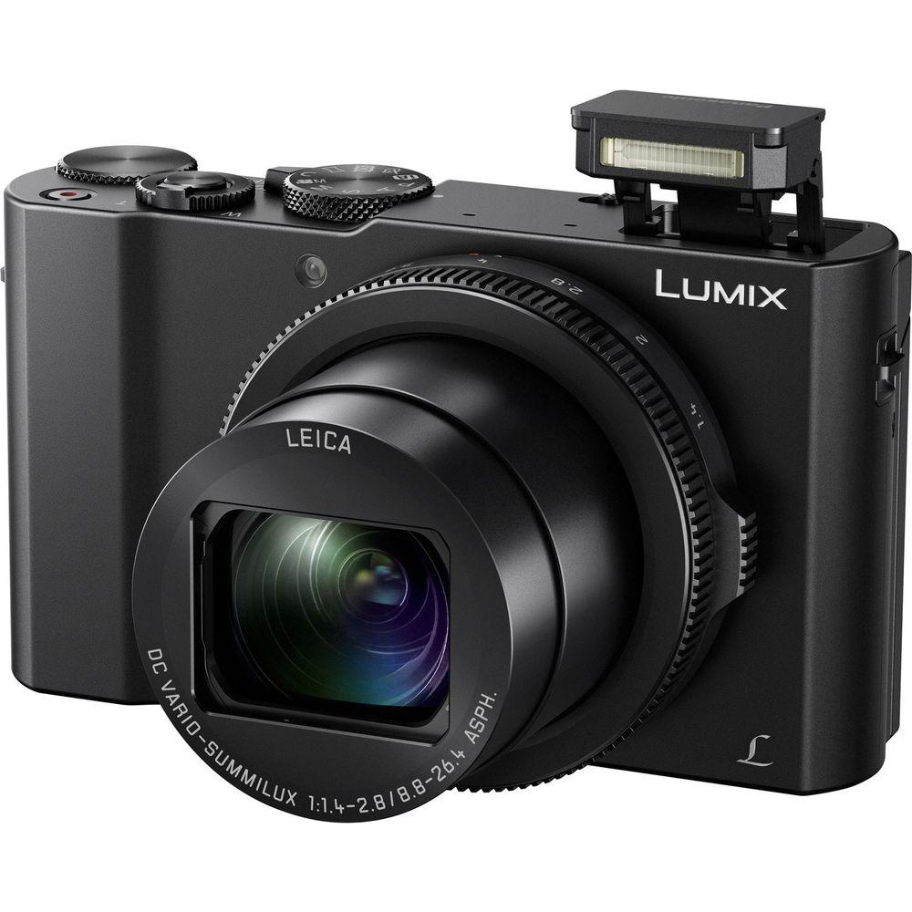 Panasonic Lumix LX10 Digital Camera with Leica 3x Zoom and 4K Video at  Hunts Photo & Video