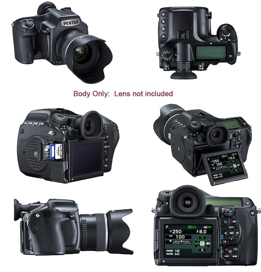 Digital Cameras: Pentax 645z Full-Frame Medium Format DSLR Body at ...