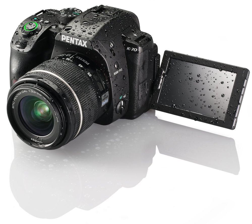 Digital Cameras Pentax K 70 Weather Sealed Dslr Camera