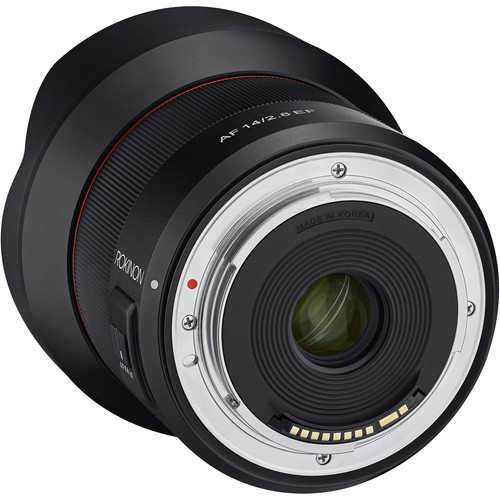 Lenses and Filters: Rokinon 14mm F/2 8 AF Ultra-Wide Angle Prime