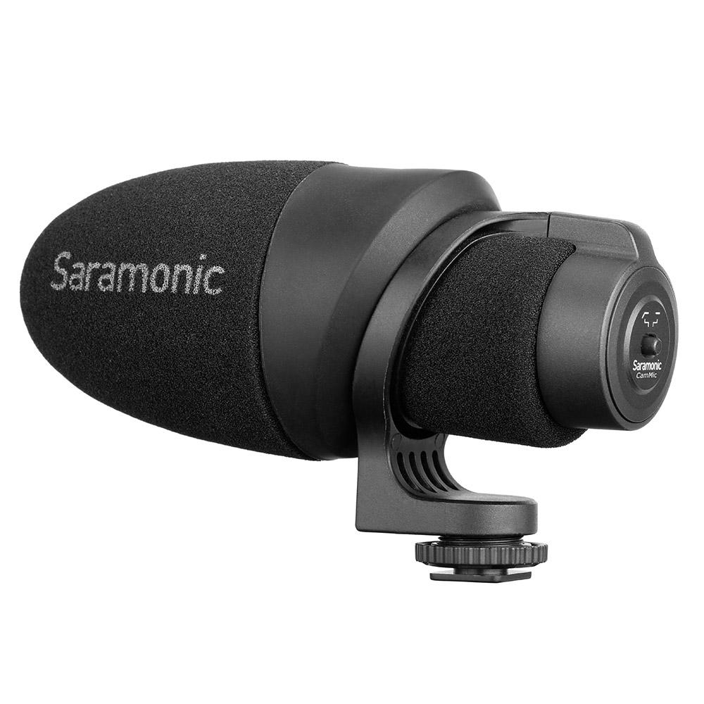 Saramonic Sr-xm1 3.5mm Trs Omnidirectional Microphone Plug And Play Mic Compa... Cameras & Photo Audio For Video