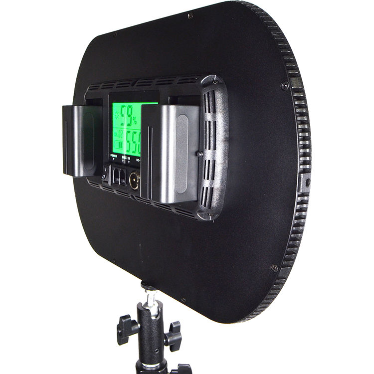 Studio Lighting For Streaming: Continuous Lighting: Savage Edge Lit Pro LED Light At