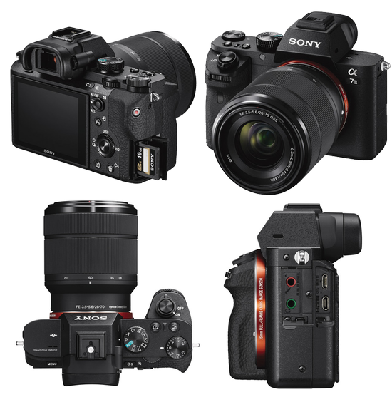 Digital Cameras: Sony A7II Full-frame Mirrorless Camera with FE 28 ...