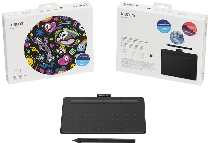 Digital Imaging Gear Wacom Intuos Drawing Tablet Small With 3