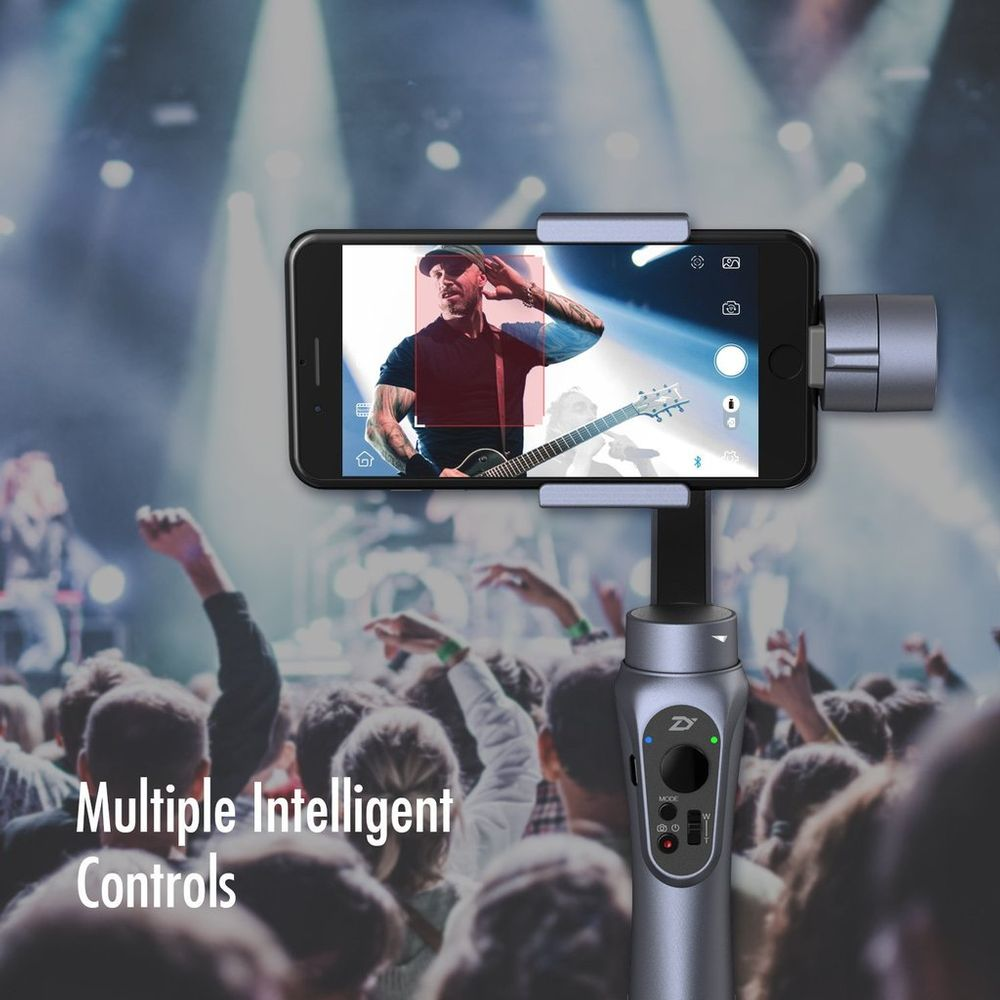 Stabilizing Rigs Zhiyun Tech Smooth Q 3 Axis Handheld Gimbal For Smartphone Smartphones At Hunts Photo Video