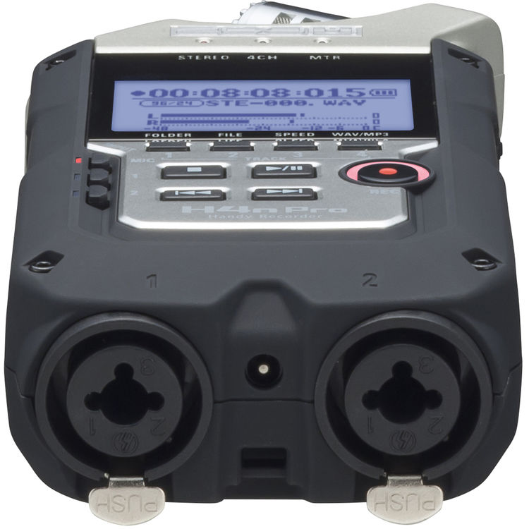 Audio Recorders: Zoom H4N Pro 4-Track Handy Recorder at